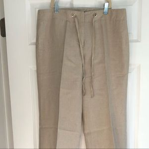 Linen JCrew pants